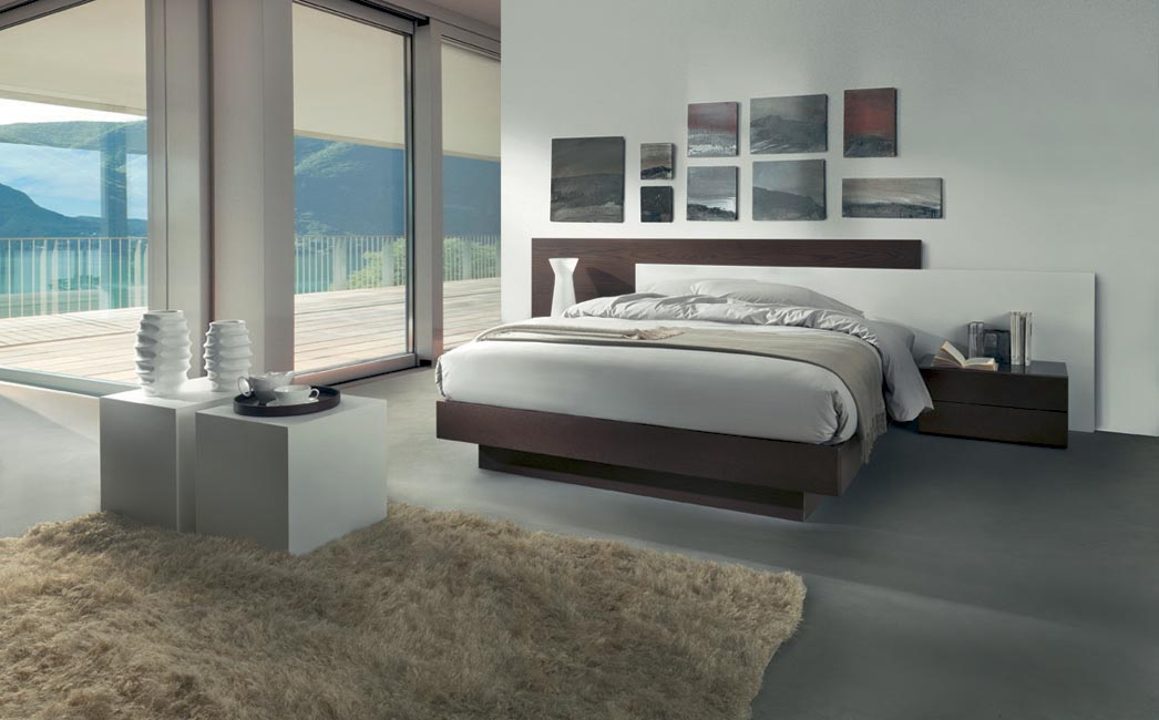 Camere moderne letti moderni armadi design for Camere complete online