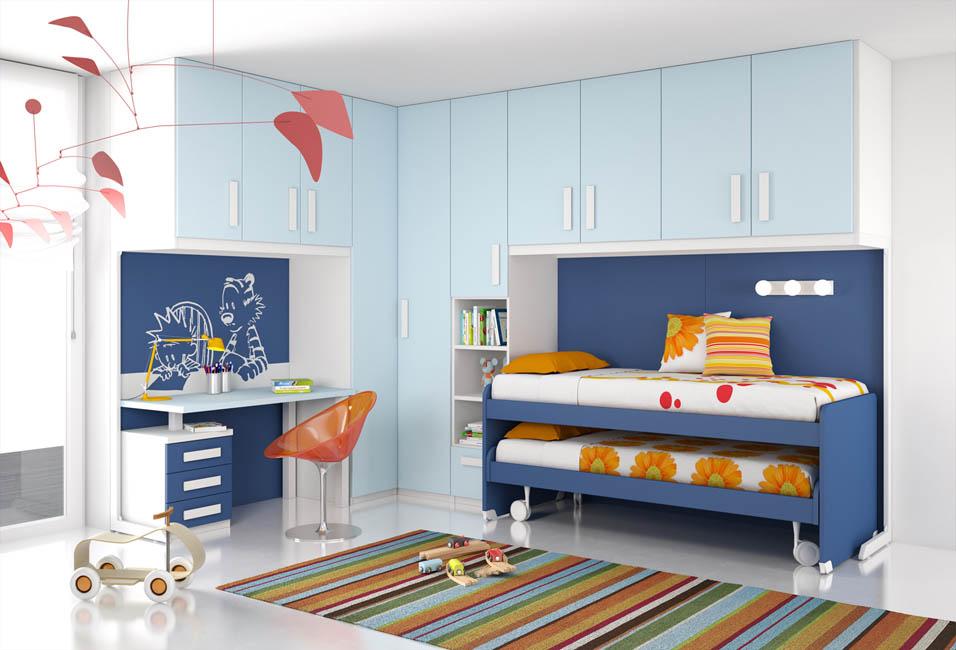 Camerette moderne camere per ragazzi camerette per bambini - Armadio ikea bimbi ...