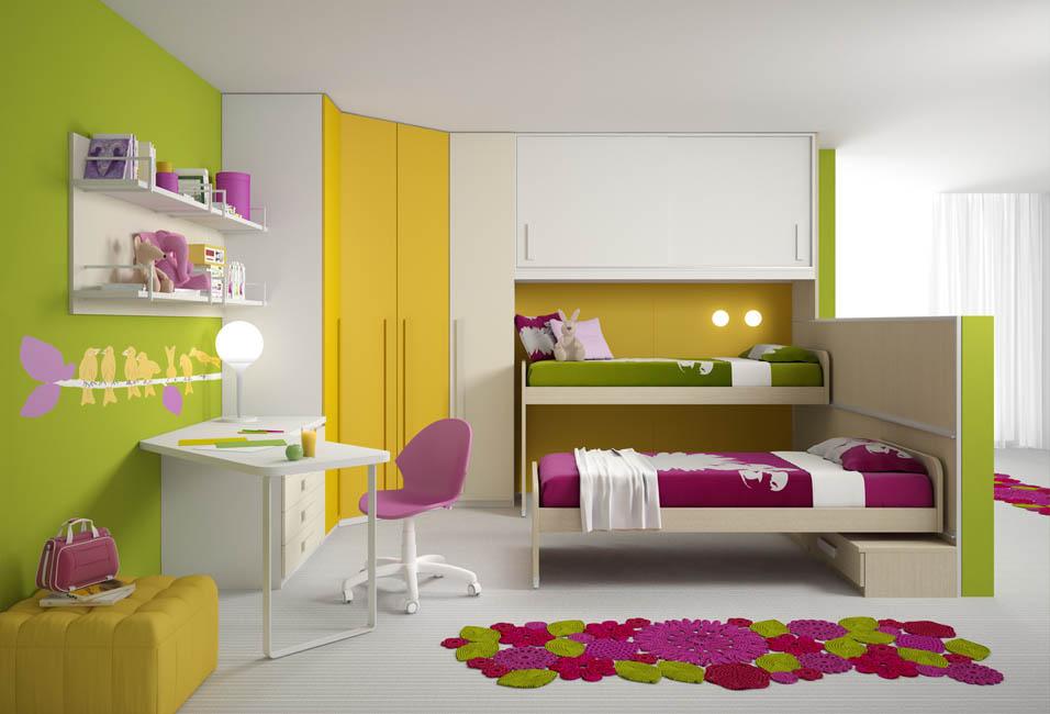 Camerette moderne camere per ragazzi camerette per bambini for Camerette ragazzi marche