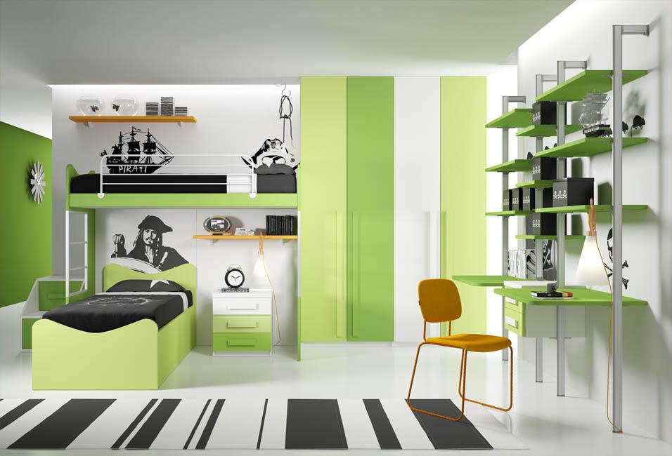Camerette moderne camere per ragazzi camerette per bambini for Mussi arredamenti via parini lissone