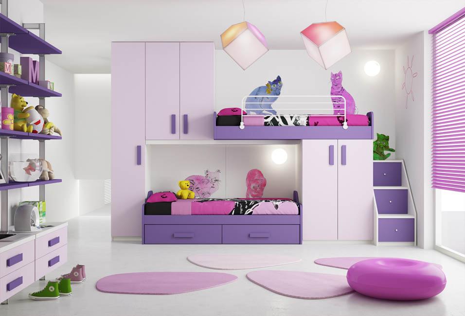 Camerette moderne camere per ragazzi camerette per bambini - Camere da letto lissone ...