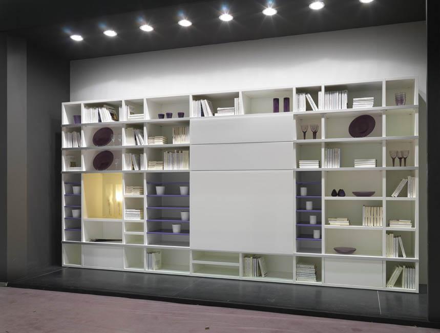 Librerie moderne libreria design librerie angolari for Mussi arredamenti via parini lissone