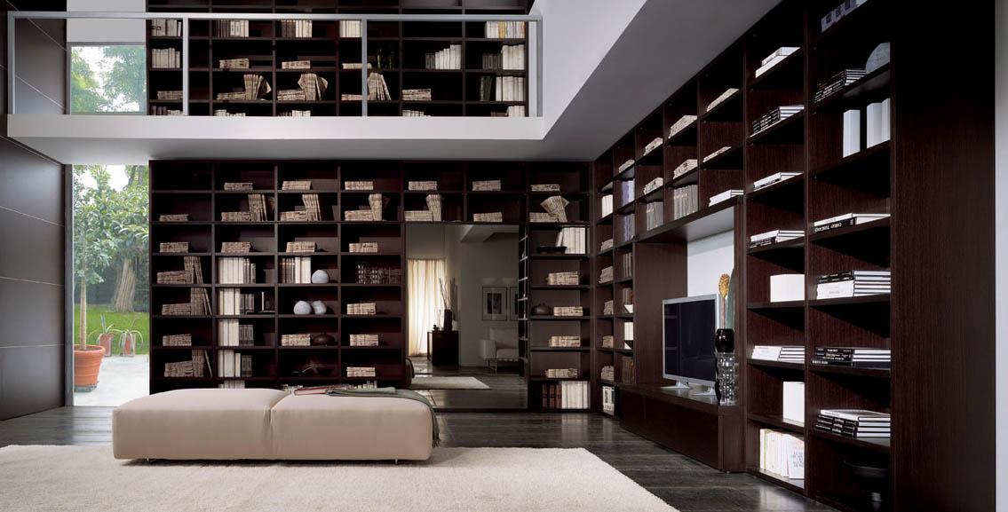 Librerie moderne libreria design librerie angolari for Acquisto libreria