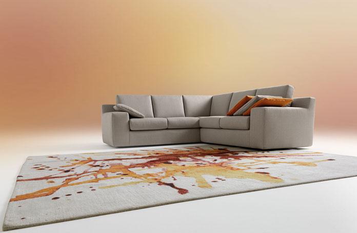 Salotti design for Mussi arredamenti via parini lissone
